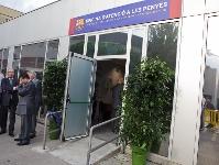 La oficina de atenci n al pe ista inaugurada for Oficinas fc barcelona