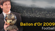 Messi - Ballon d'Or
