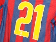 2009/2010 shirt numbers revealed