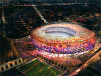 Image associated to news article on:  The new Camp Nou