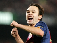 Iniesta is Bar�a�s new number 8