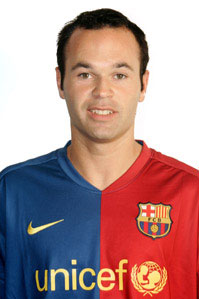 Iniesta on Personal Details Name Andres Iniesta Lujan Position Midfielder Place