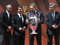 Champions League trophy in Madrid