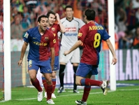 Xavi, Iniesta y Messi, a por el FIFA World Player