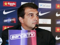 Laporta announces agreement in principle with Inter