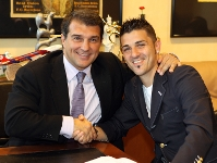 Villa signs four-year deal