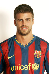 Image associated to news article on:  Gerard Piqué Bernabeu