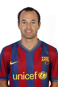 Image associated to news article on:  Andrés Iniesta Lujan
