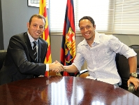 Adriano signs four year deal