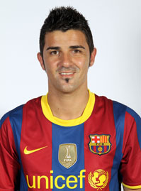 Foto David Villa on Personal Details Name David Villa Sanchez Position Forward Place Of