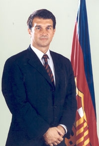Image associated to news article on:  Joan Laporta i Estruch (2003-2010)