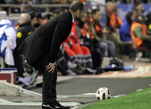 Guardiola improving