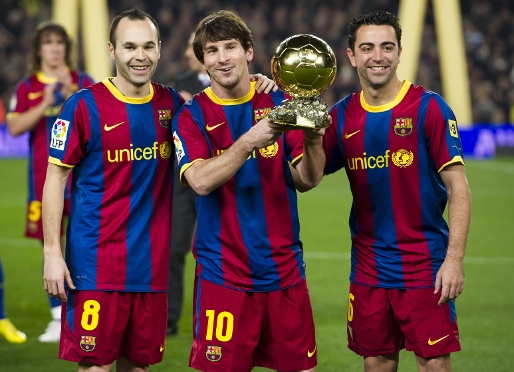 Eight FCB players aspire to Balon d�Or 2011