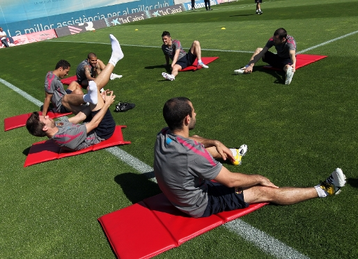 Recuperation at the Ciutat Esportiva