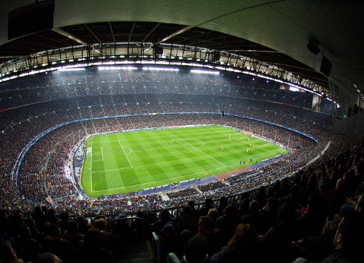 Camp Nou league attendances rise by 2.7%