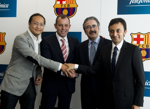 Barça and Telefónica I+D: technological excellence for the Camp Nou