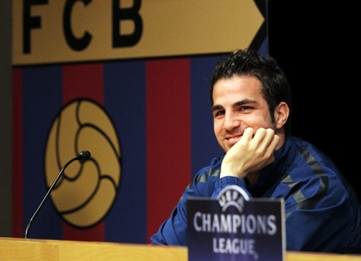 Intial agreement for Cesc F�bregas