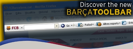Image associated to news article on:Barça Toolbar. Download it here for free!